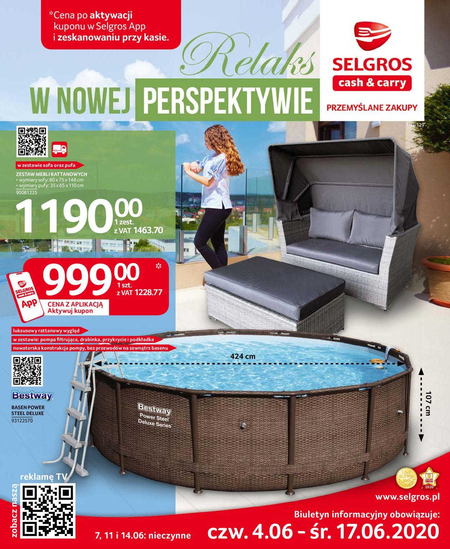 Gazetka promocyjna Selgros - 04.06-17.06.2020