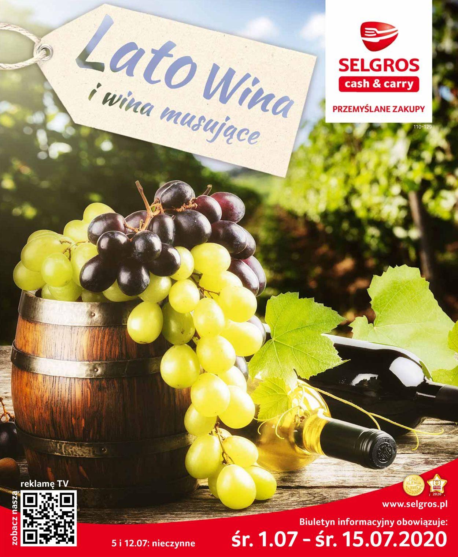 Gazetka promocyjna Selgros - 01.07-15.07.2020
