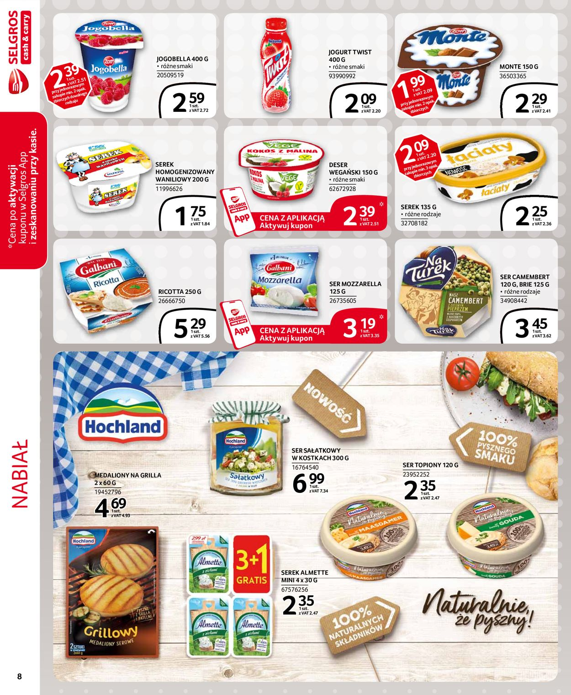 Gazetka promocyjna Selgros - 16.07-29.07.2020 (Strona 8)