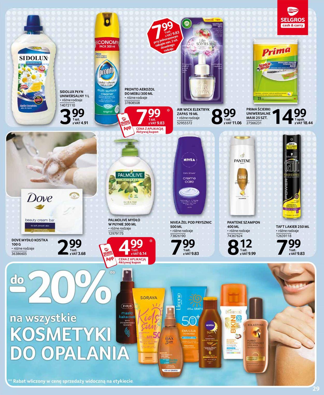Gazetka promocyjna Selgros - 16.07-29.07.2020 (Strona 25)