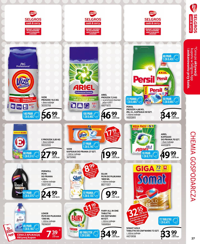 Gazetka promocyjna Selgros - 30.07-12.08.2020 (Strona 22)
