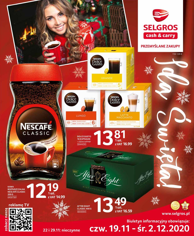 Gazetka promocyjna Selgros - Gazetka Świąteczna 2020 - 19.11-02.12.2020