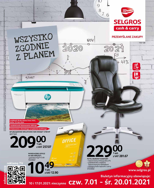 Gazetka promocyjna Selgros - 07.01-20.01.2021