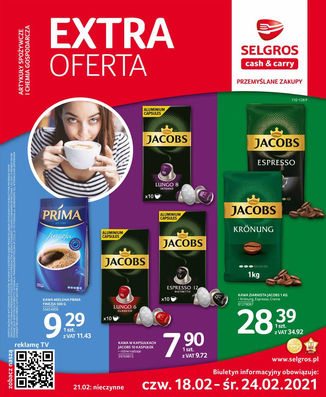 Gazetka promocyjna Selgros Extra Oferta - 18.02-24.02.2021