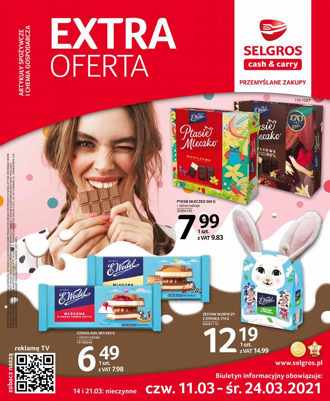 Gazetka promocyjna Selgros Extra Oferta - 11.03-24.03.2021