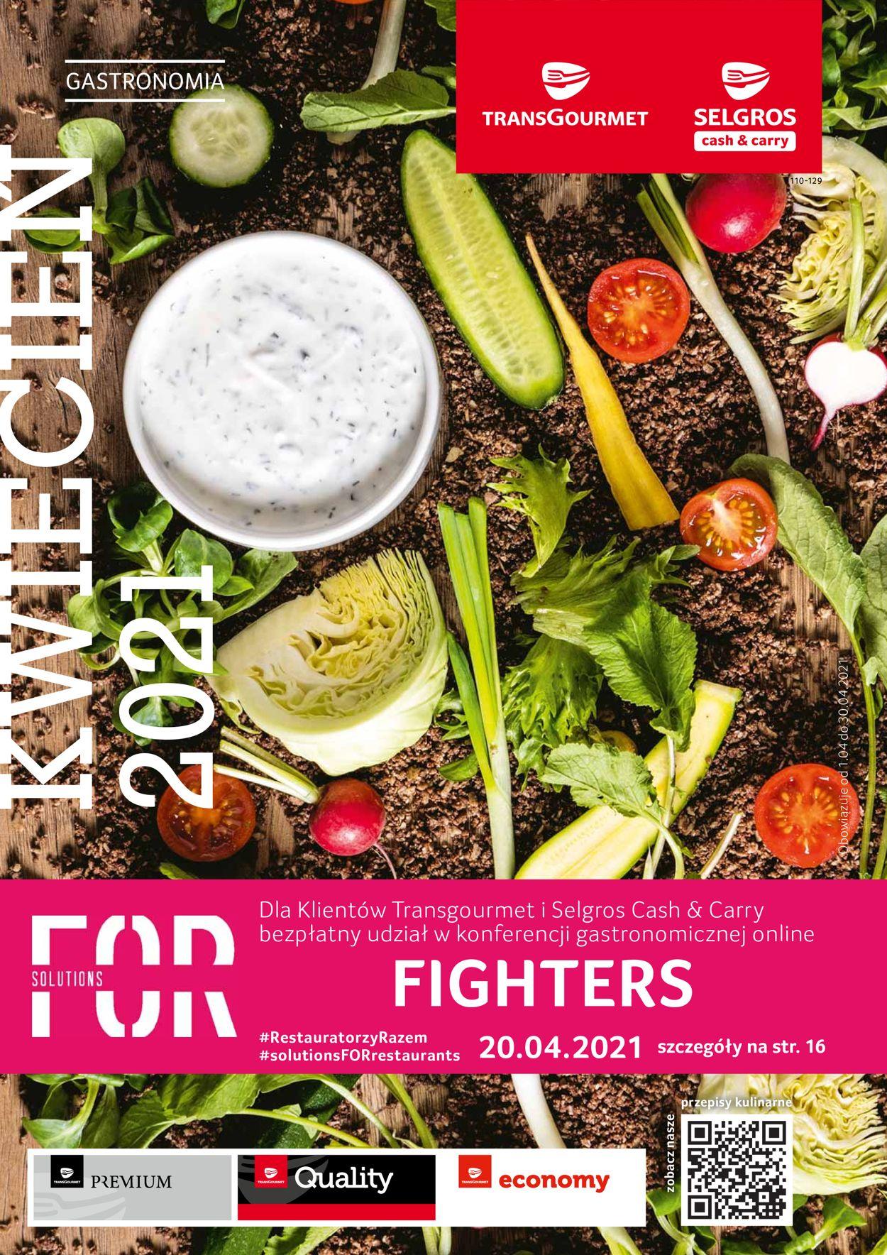 Gazetka promocyjna Selgros Oferta gastronomiczna - 01.04-30.04.2021