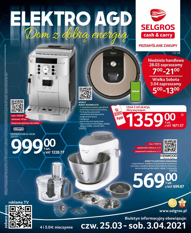 Gazetka promocyjna Selgros Elektro - 25.03-03.04.2021