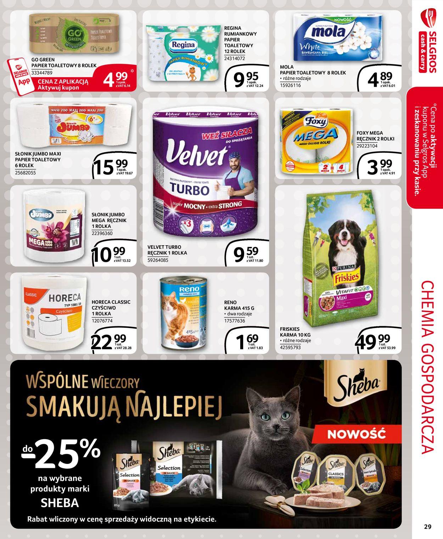 Gazetka promocyjna Selgros Extra Oferta - 06.04-14.04.2021 (Strona 23)