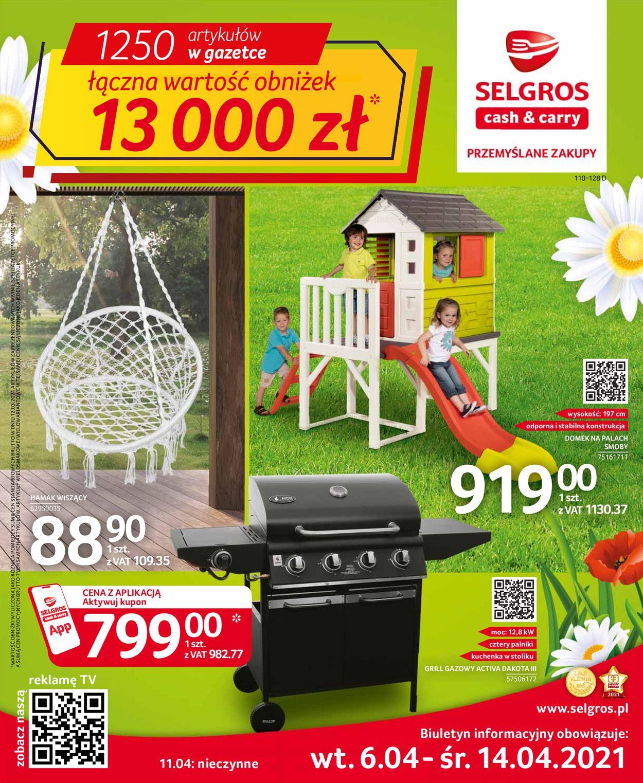 Gazetka promocyjna Selgros Oferta przemysłowa - 06.04-14.04.2021