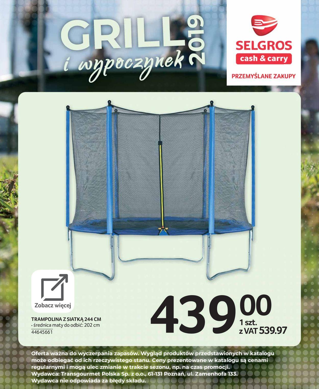 Gazetka promocyjna Selgros - 19.04-17.07.2019 (Strona 111)