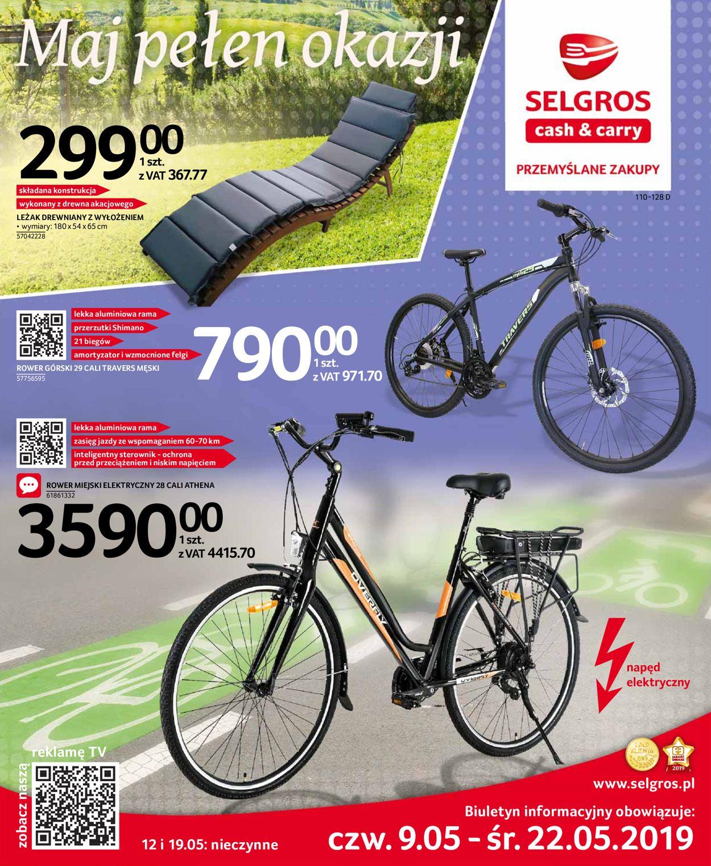 Gazetka promocyjna Selgros - 09.05-22.05.2019