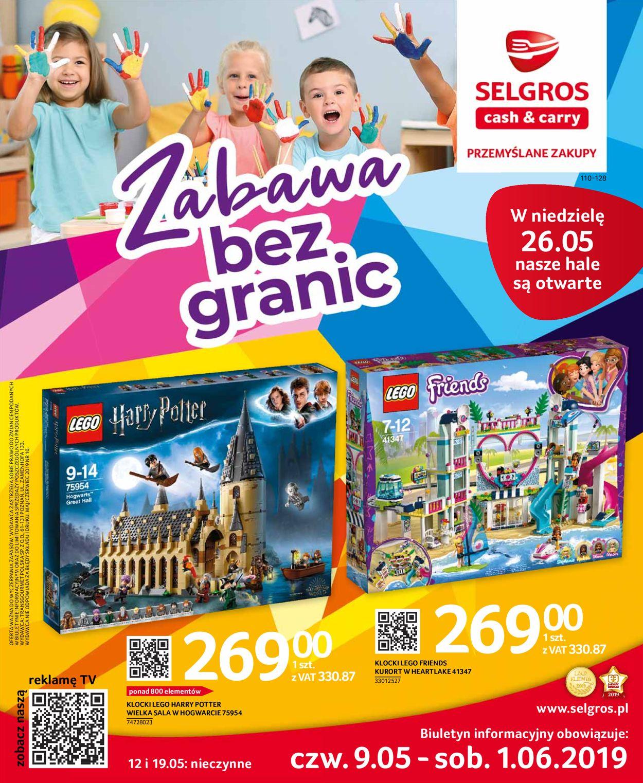 Gazetka promocyjna Selgros - 09.05-01.06.2019
