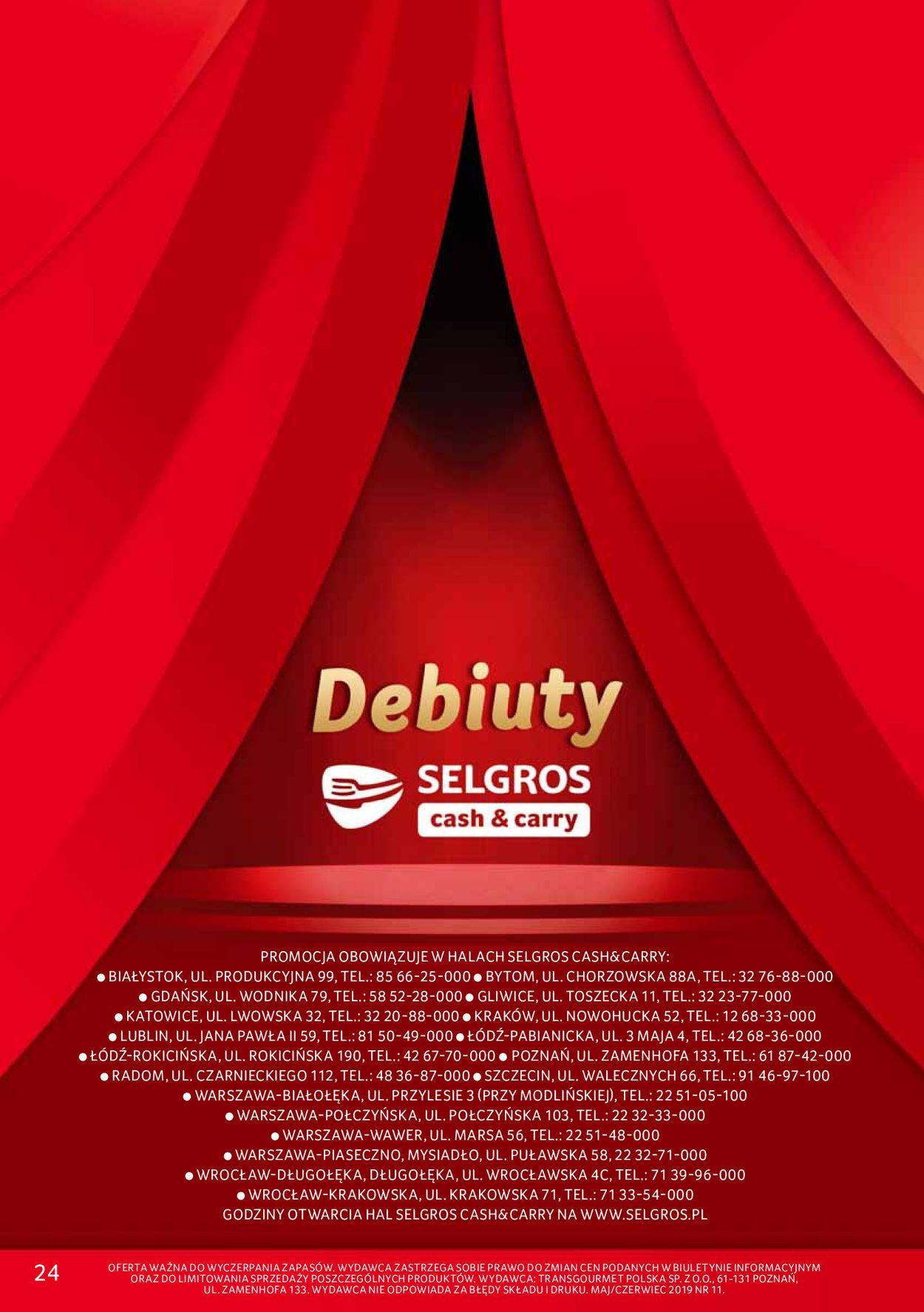 Gazetka promocyjna Selgros - 23.05-05.06.2019 (Strona 20)