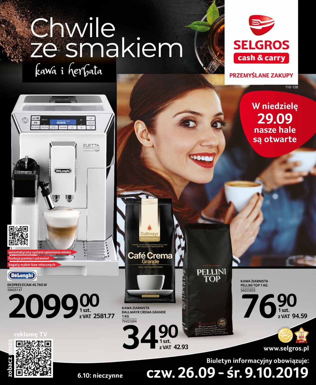 Gazetka promocyjna Selgros - 26.09-09.10.2019
