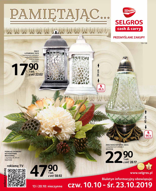 Gazetka promocyjna Selgros - 10.10-23.10.2019