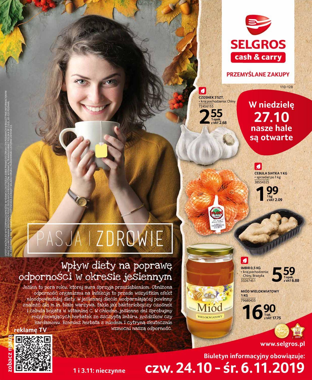 Gazetka promocyjna Selgros - 24.10-06.11.2019