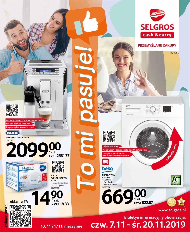 Gazetka promocyjna Selgros - 07.11-20.11.2019