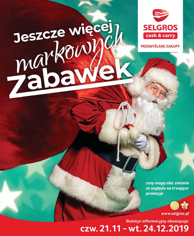 Gazetka promocyjna Selgros - Gazetka Świąteczna 2019 - 21.11-24.12.2019