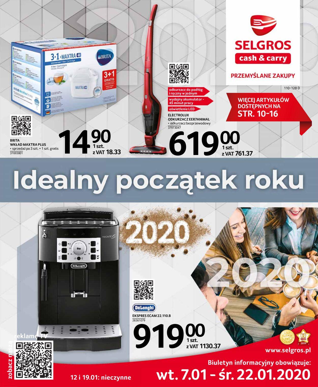 Gazetka promocyjna Selgros - 07.01-22.01.2020
