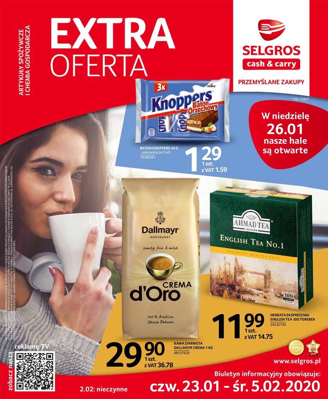 Gazetka promocyjna Selgros - 23.01-05.02.2020