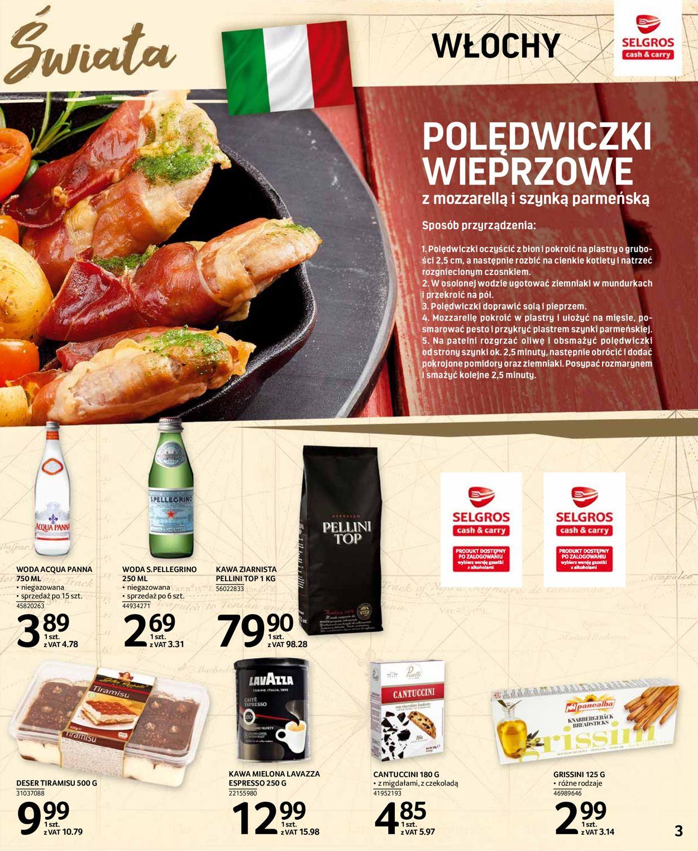 Gazetka promocyjna Selgros - 23.01-05.02.2020 (Strona 3)