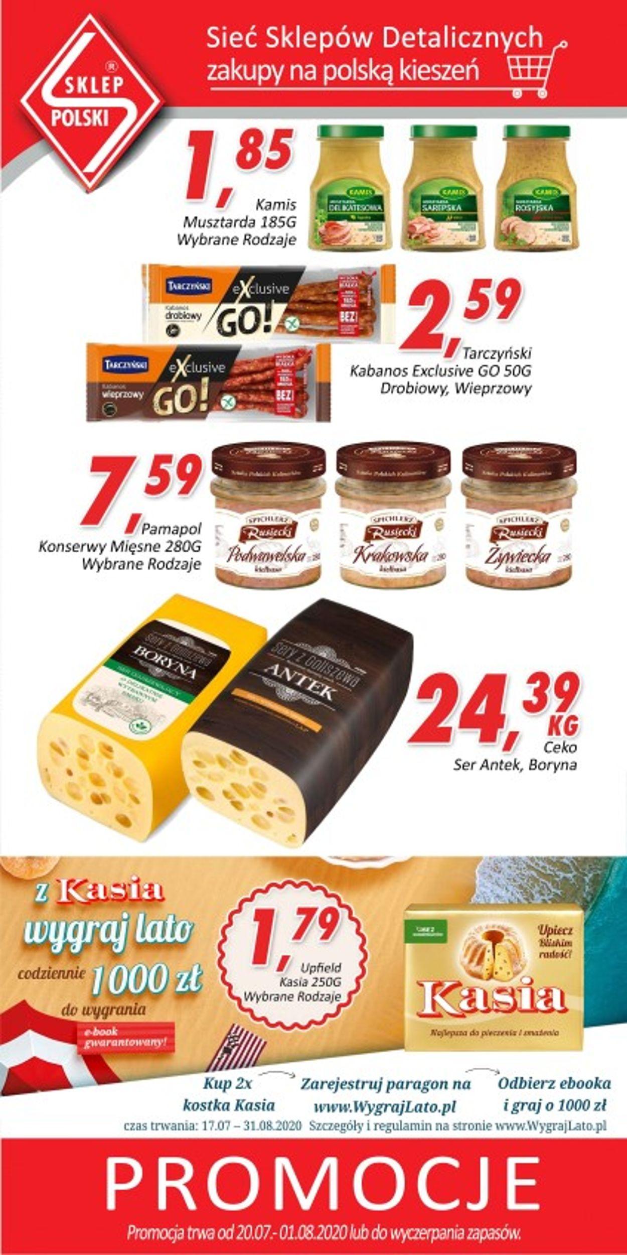 Gazetka promocyjna Sklep Polski - 20.07-01.08.2020