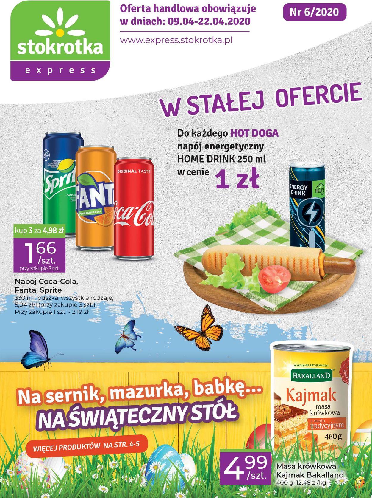 Gazetka promocyjna Stokrotka - 09.04-22.04.2020