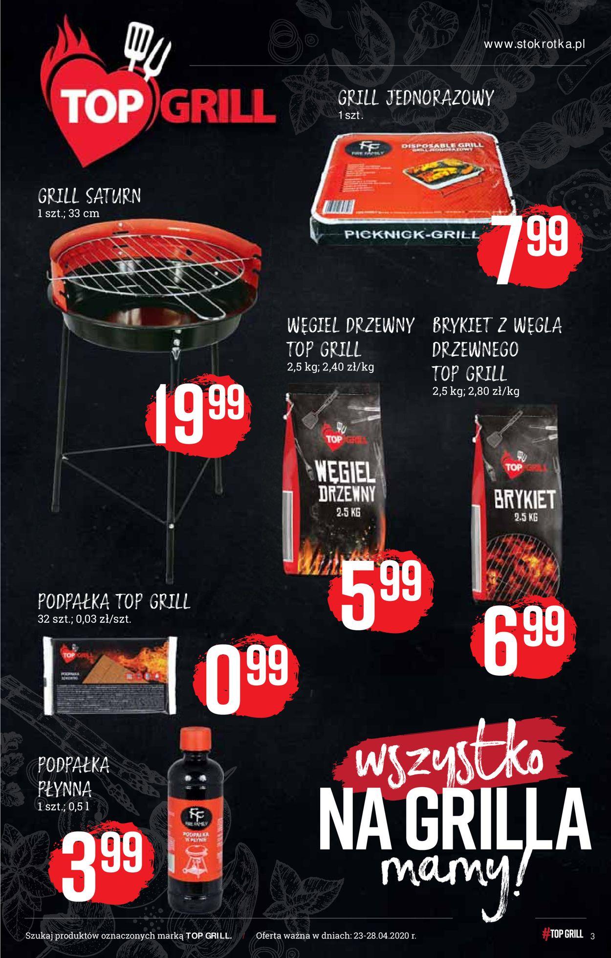 Gazetka promocyjna Stokrotka - 23.04-28.04.2020 (Strona 3)