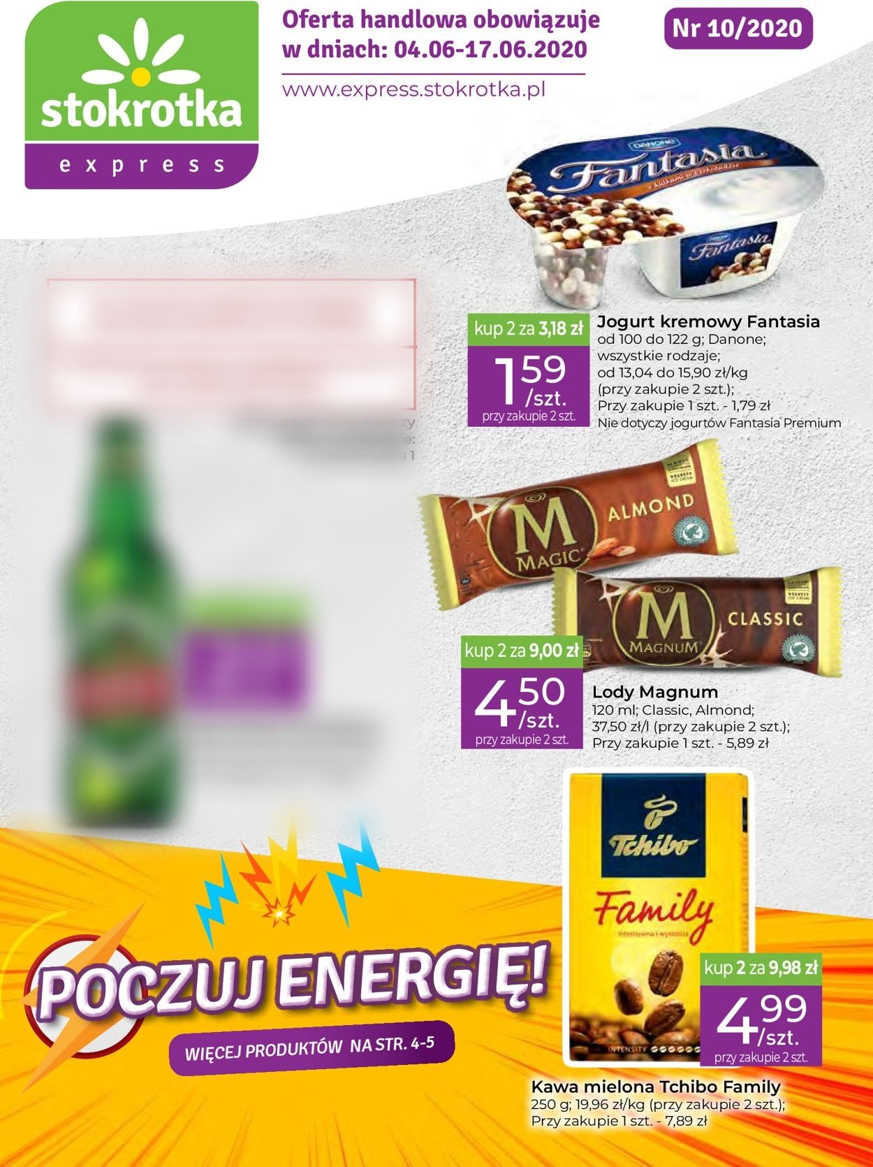 Gazetka promocyjna Stokrotka - 04.06-17.06.2020