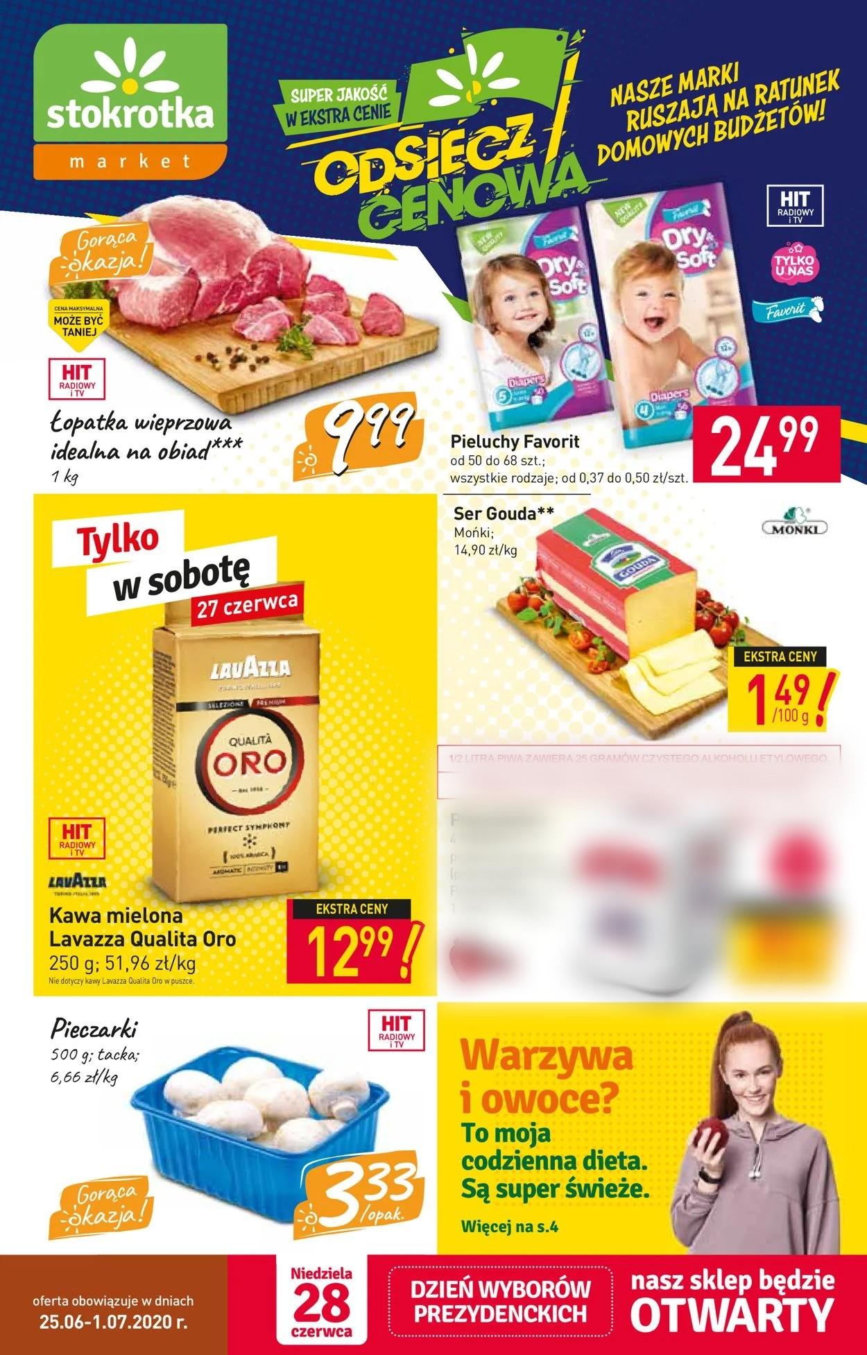 Gazetka promocyjna Stokrotka - 25.06-01.07.2020