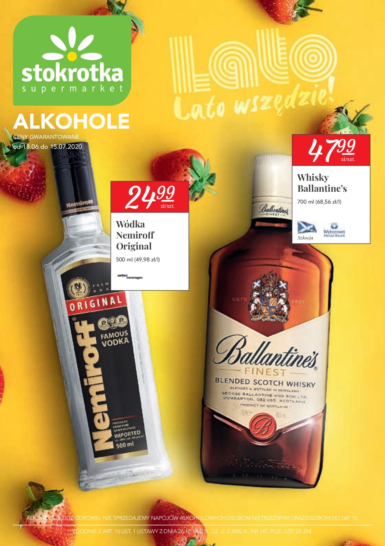 Gazetka promocyjna Stokrotka - 18.06-15.07.2020