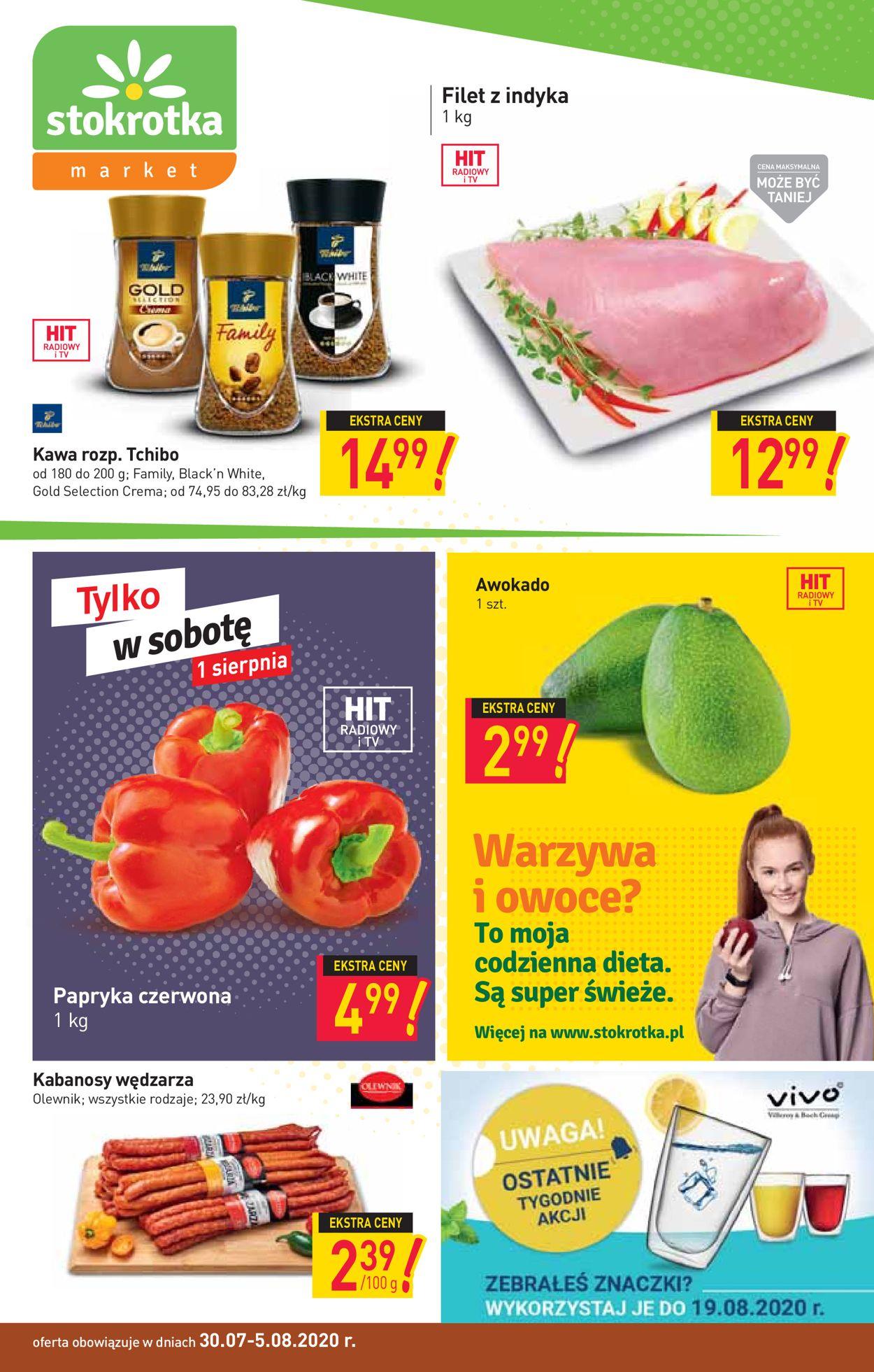 Gazetka promocyjna Stokrotka - 30.07-05.08.2020