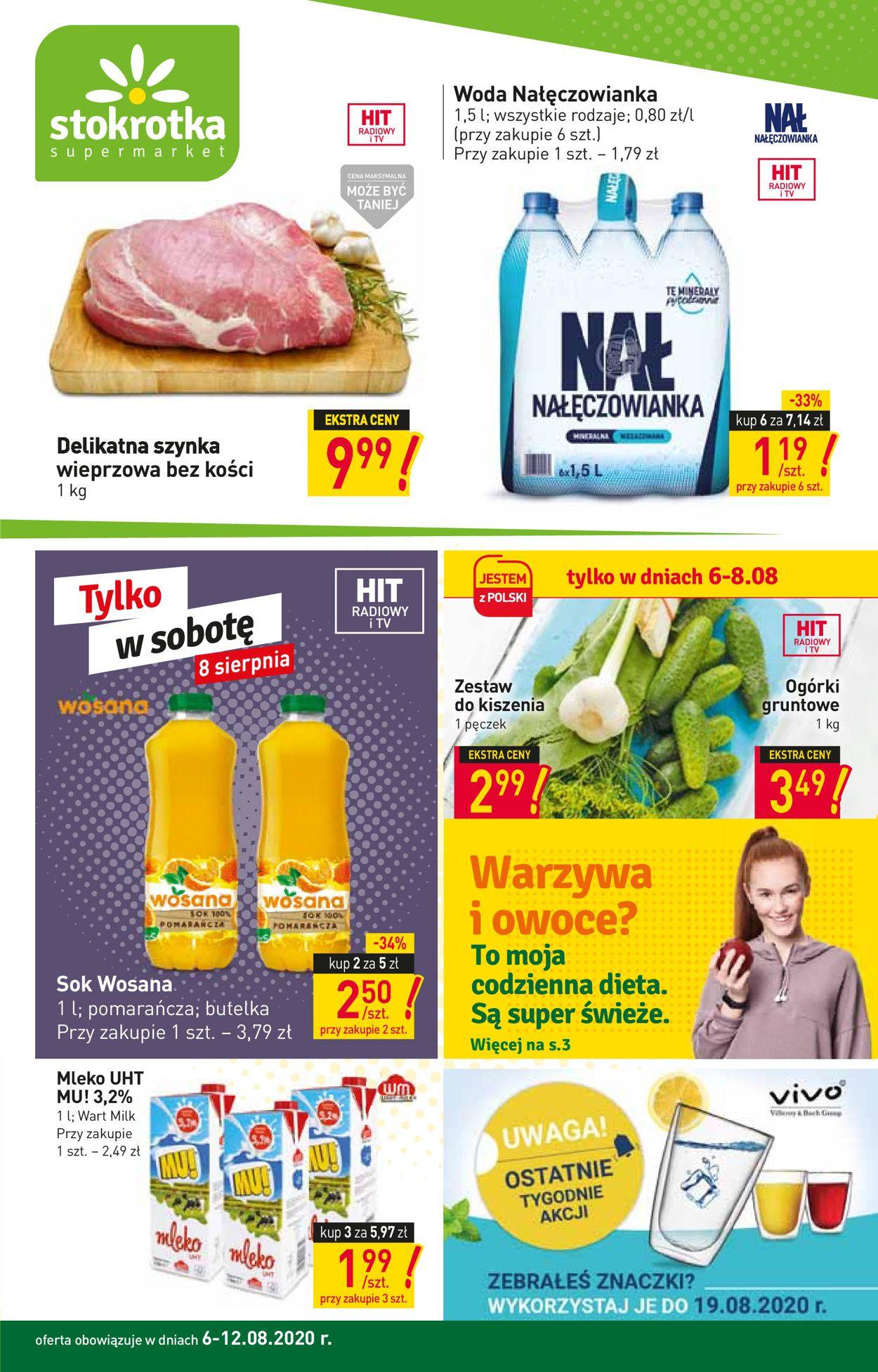 Gazetka promocyjna Stokrotka - 06.08-12.08.2020