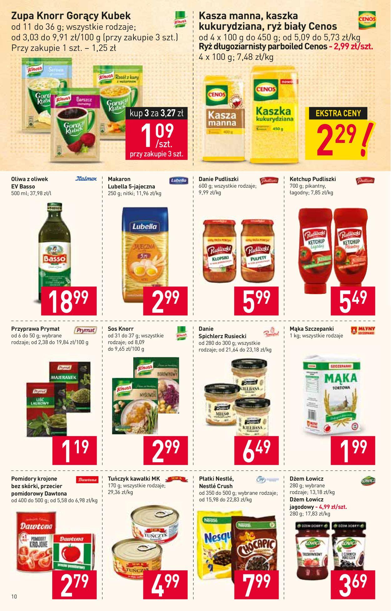 Gazetka promocyjna Stokrotka - 06.08-12.08.2020 (Strona 10)
