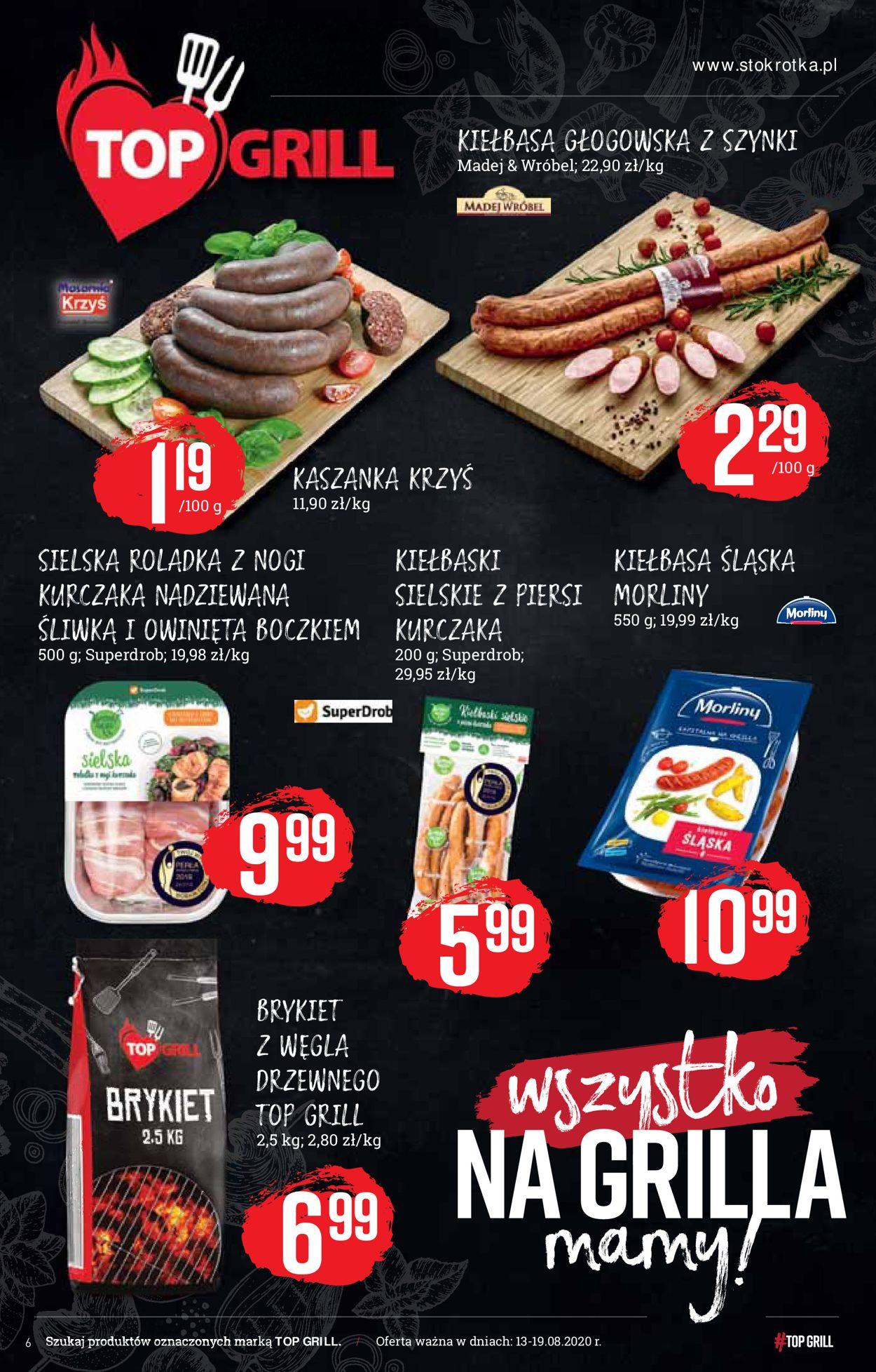 Gazetka promocyjna Stokrotka - 13.08-19.08.2020 (Strona 6)
