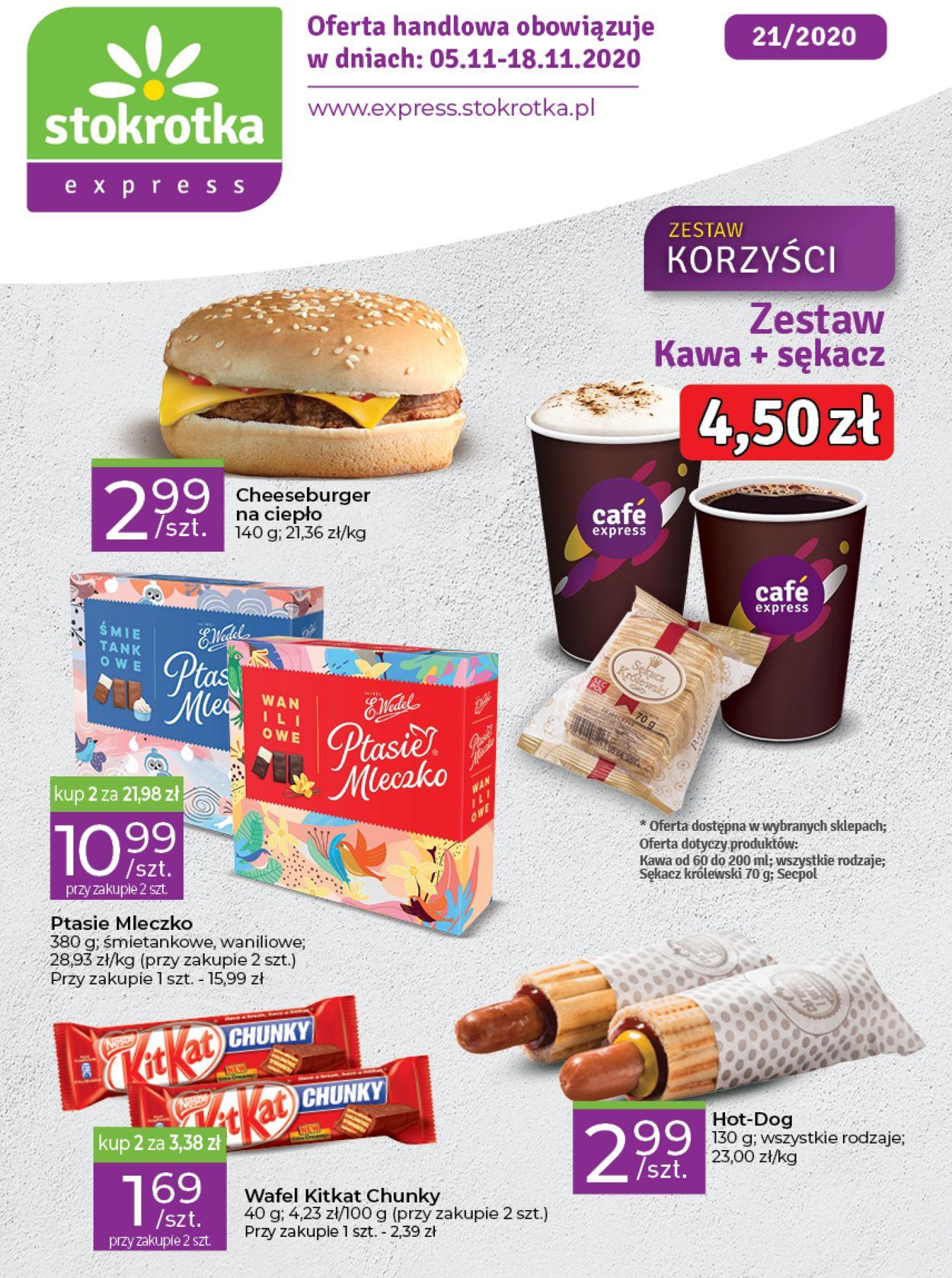 Gazetka promocyjna Stokrotka - 05.11-18.11.2020