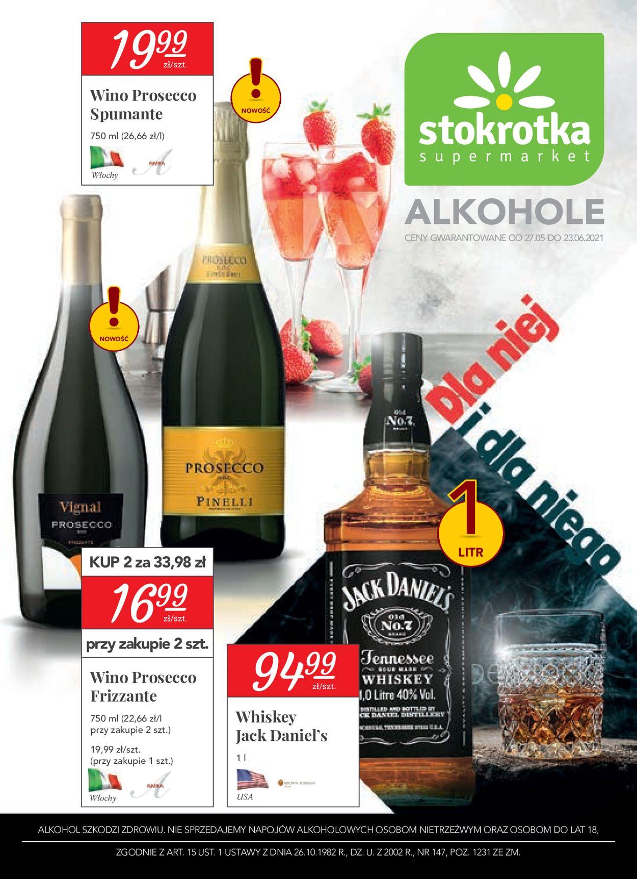 Gazetka promocyjna Stokrotka - 22.04-26.05.2021