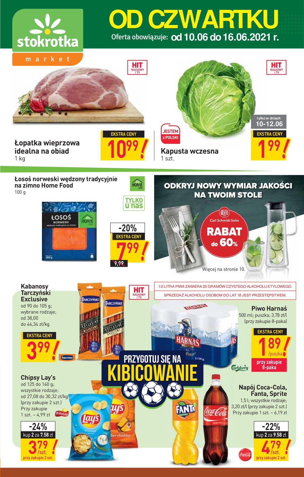 Gazetka promocyjna Stokrotka - 10.06-16.06.2021