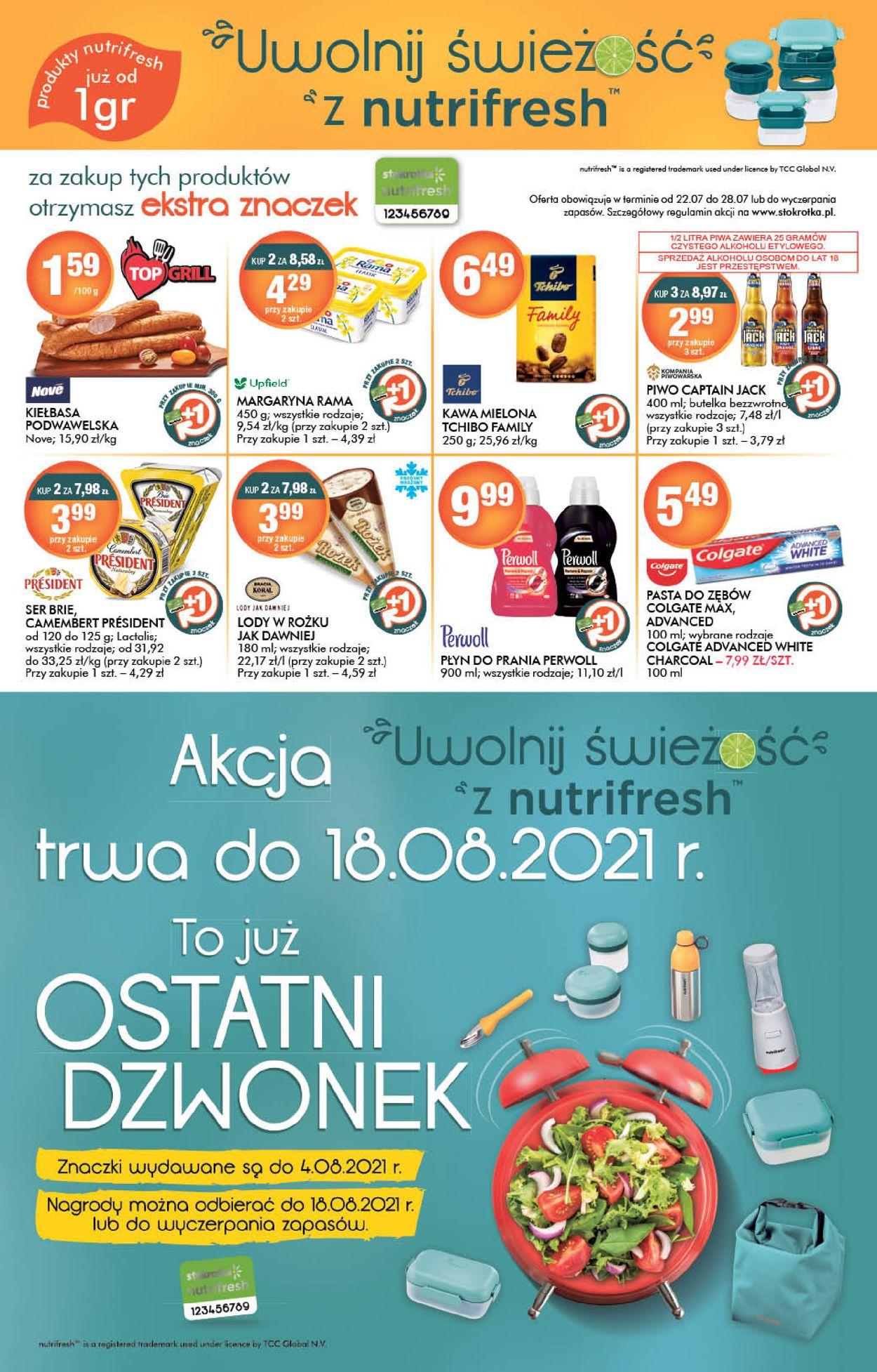 Gazetka promocyjna Stokrotka - 22.07-28.07.2021 (Strona 10)