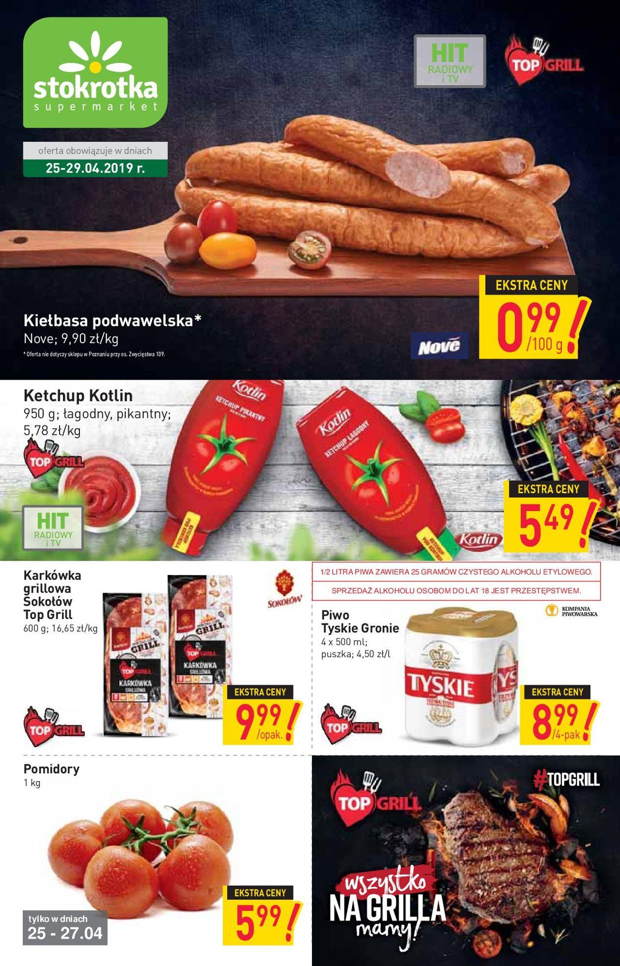 Gazetka promocyjna Stokrotka - 25.04-29.04.2019
