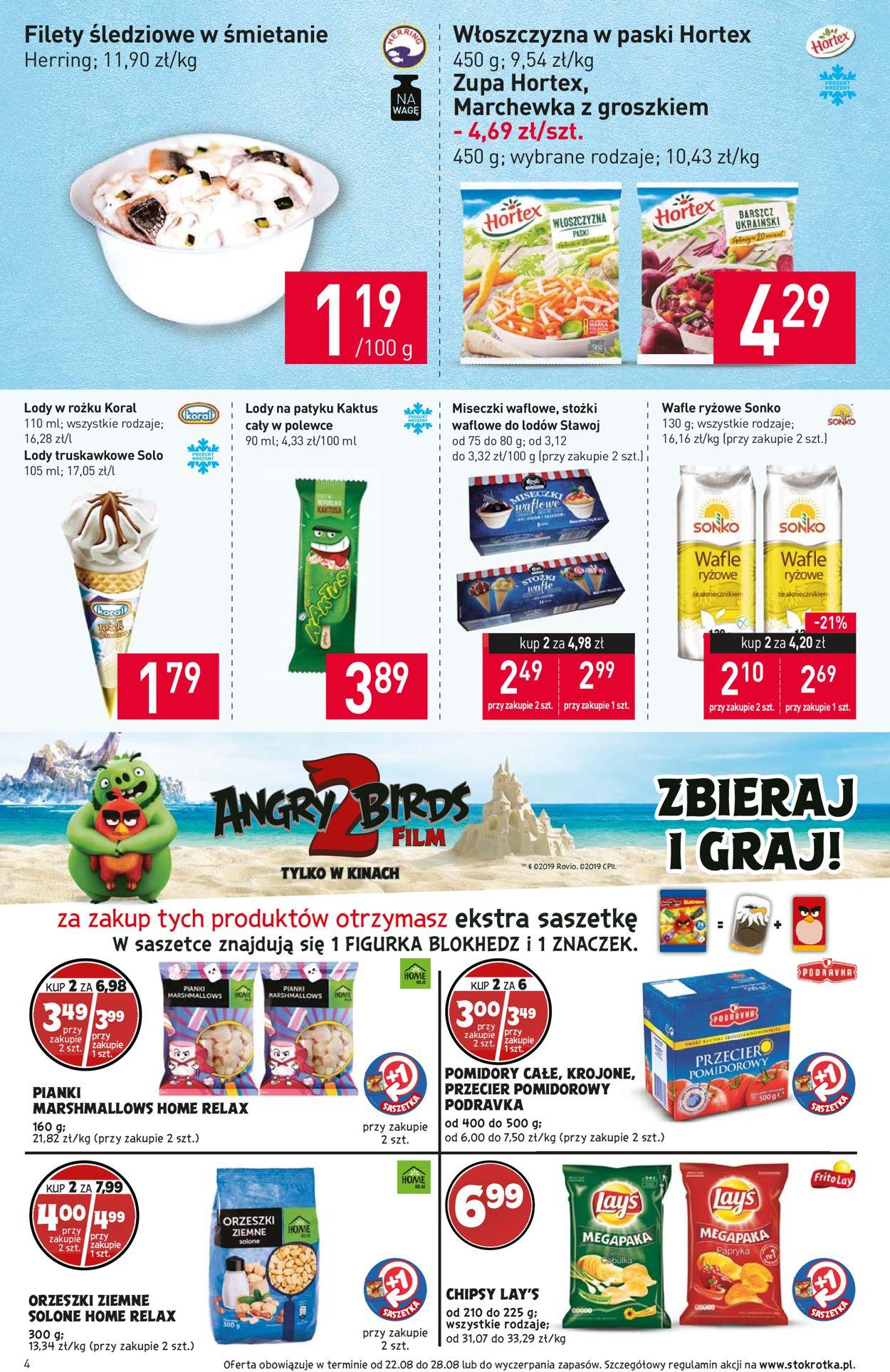 Gazetka promocyjna Stokrotka - 22.08-28.08.2019 (Strona 4)