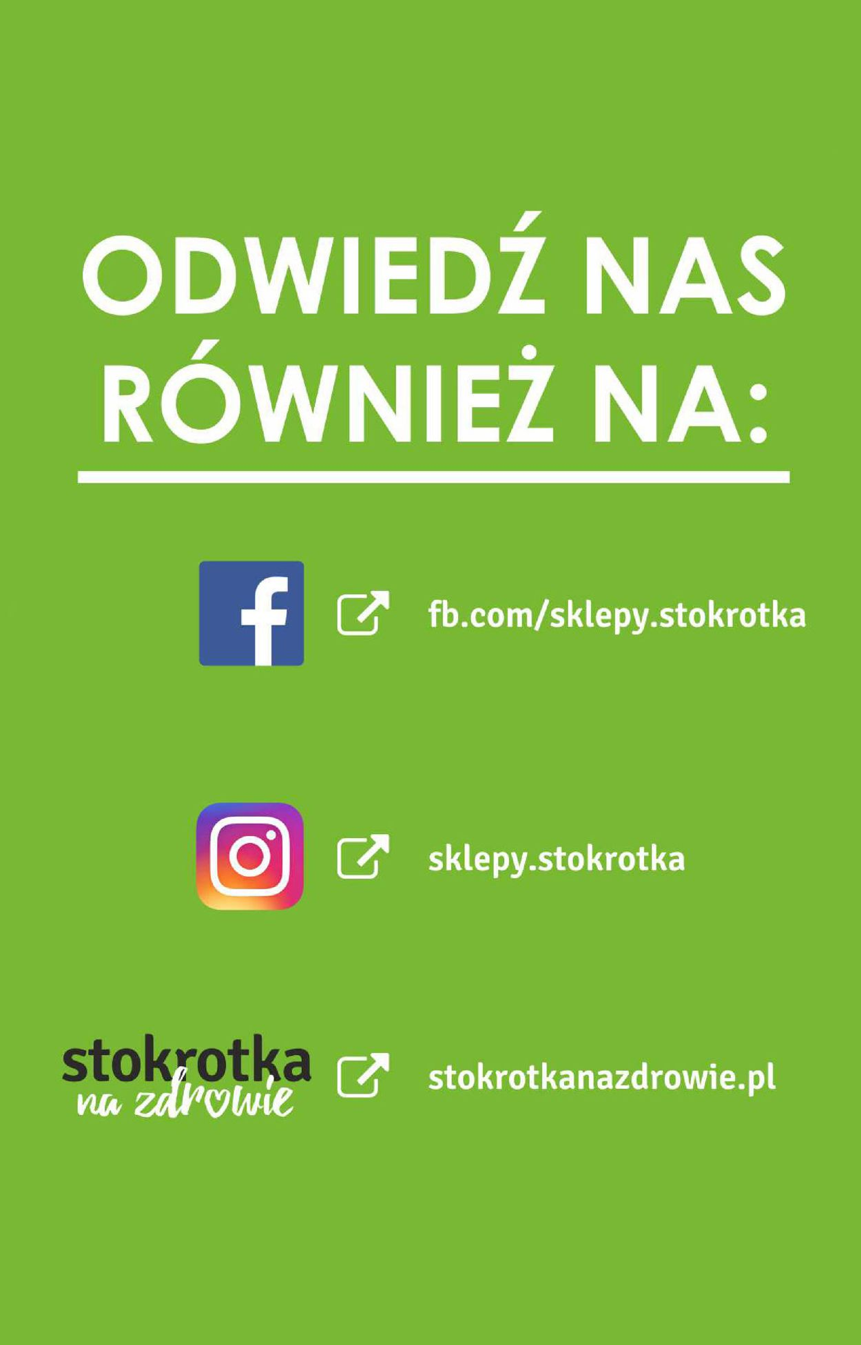 Gazetka promocyjna Stokrotka - 22.08-28.08.2019 (Strona 13)