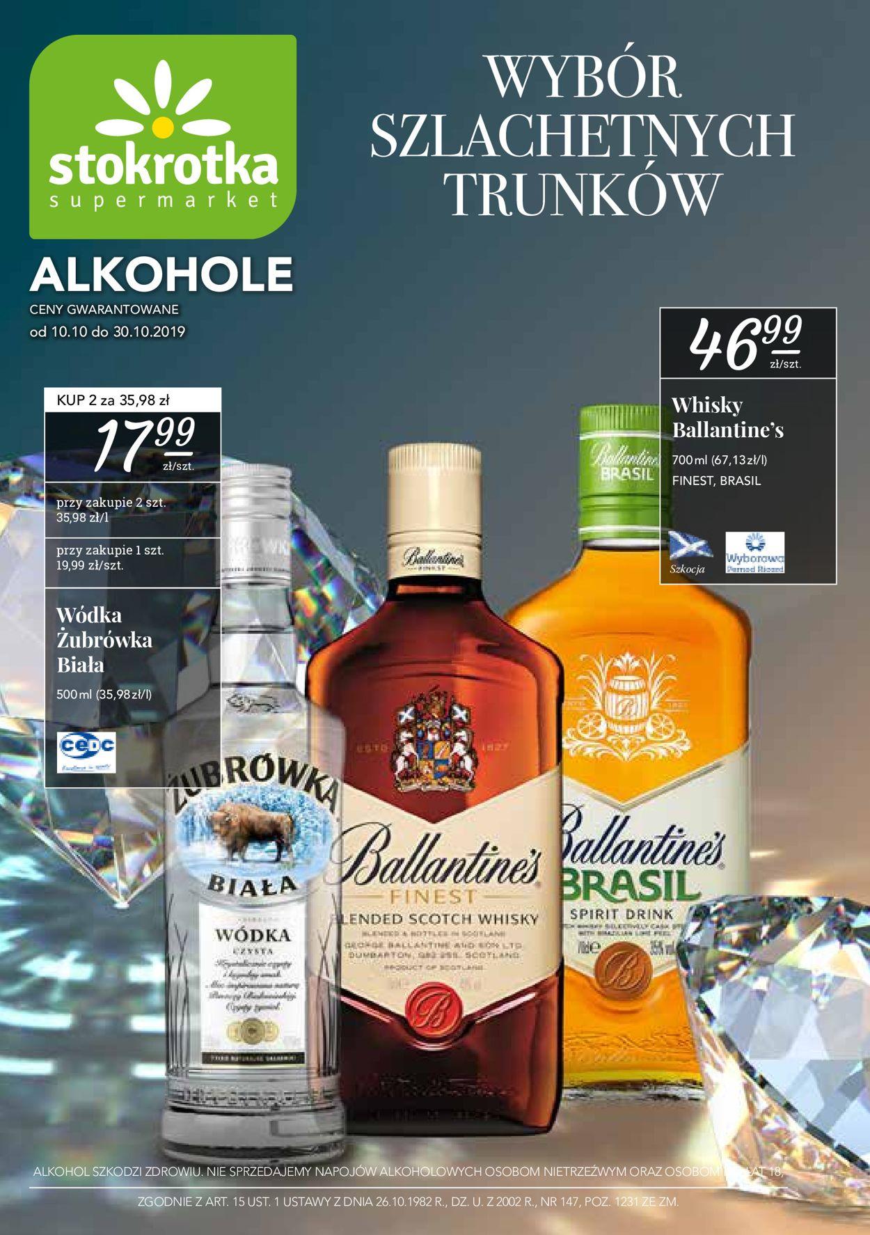 Gazetka promocyjna Stokrotka - 10.10-30.10.2019