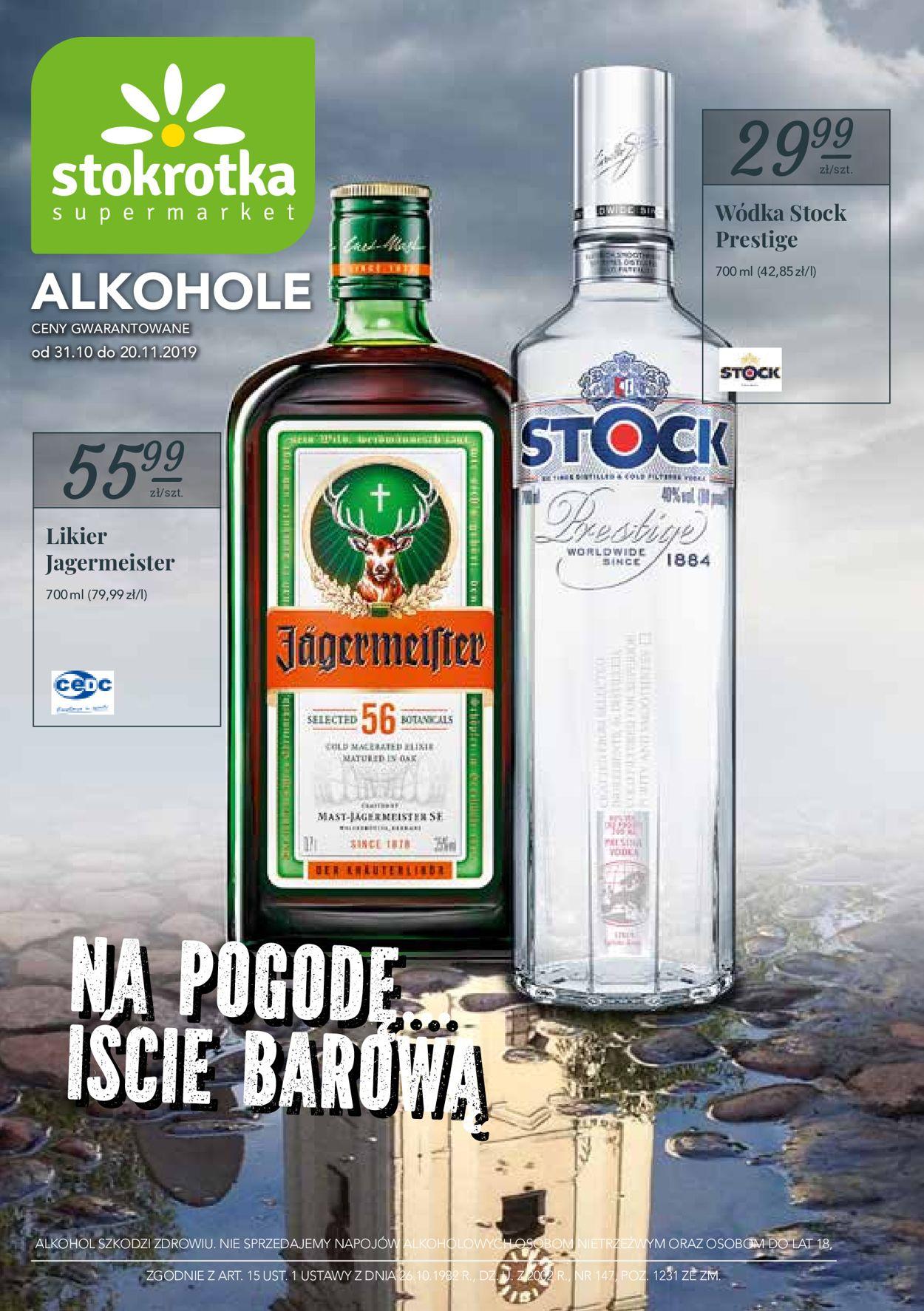 Gazetka promocyjna Stokrotka - 31.10-20.11.2019