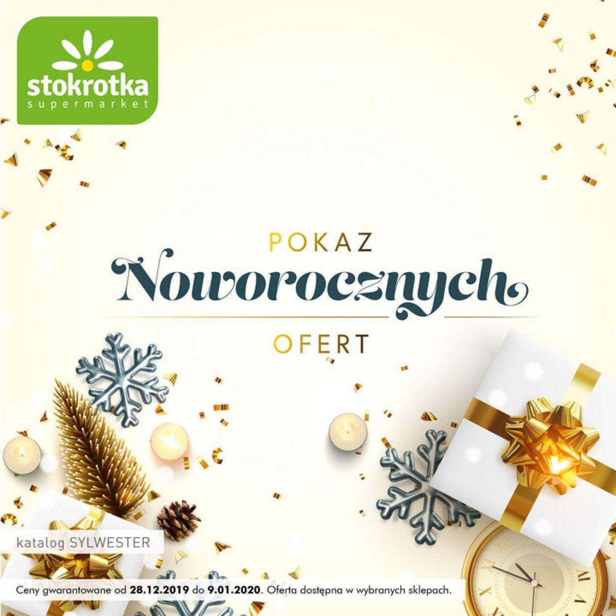 Gazetka promocyjna Stokrotka - Gazetka Noworoczna 2019/2020 - 28.12-09.01.2020