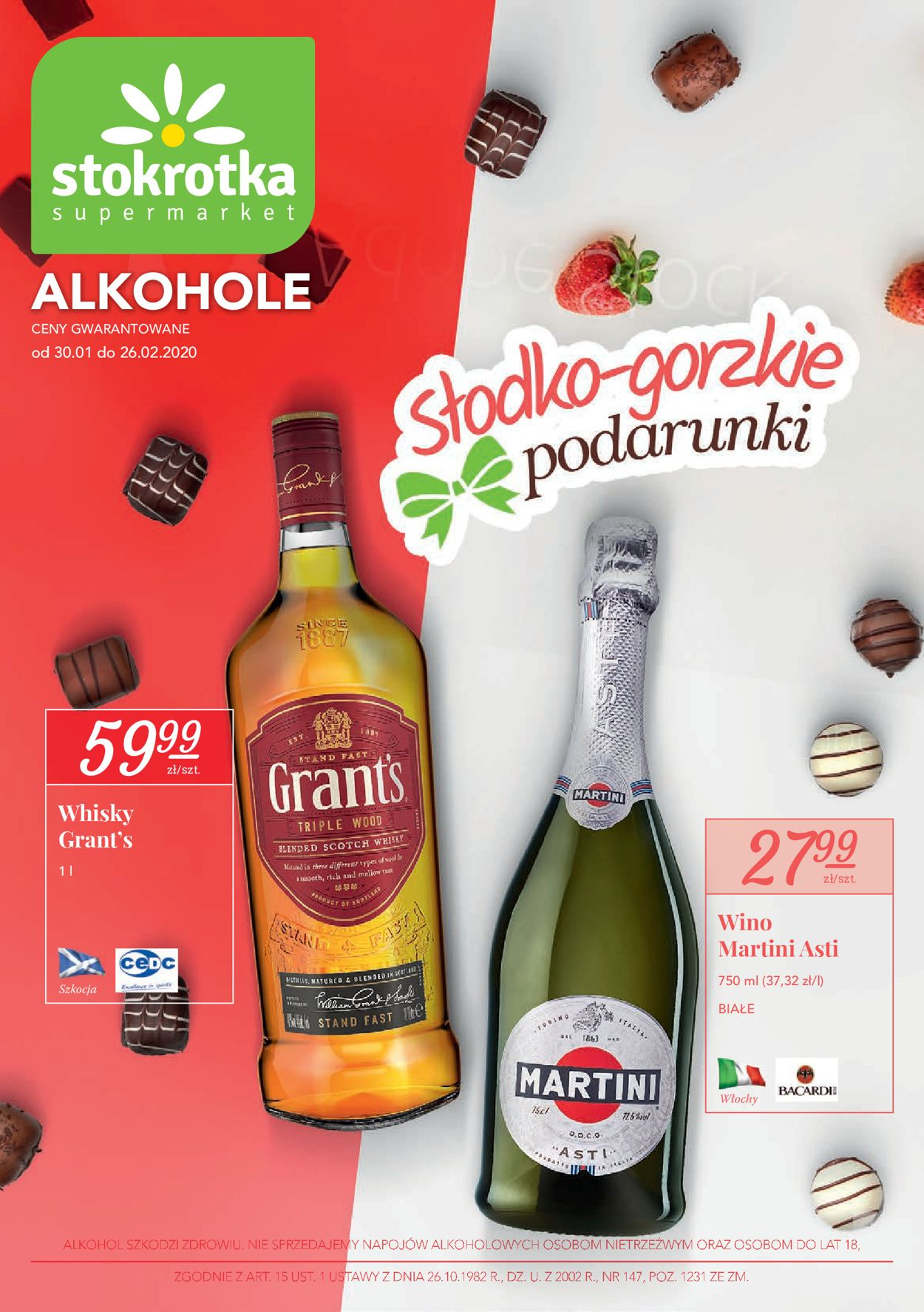 Gazetka promocyjna Stokrotka - 31.01-26.02.2020