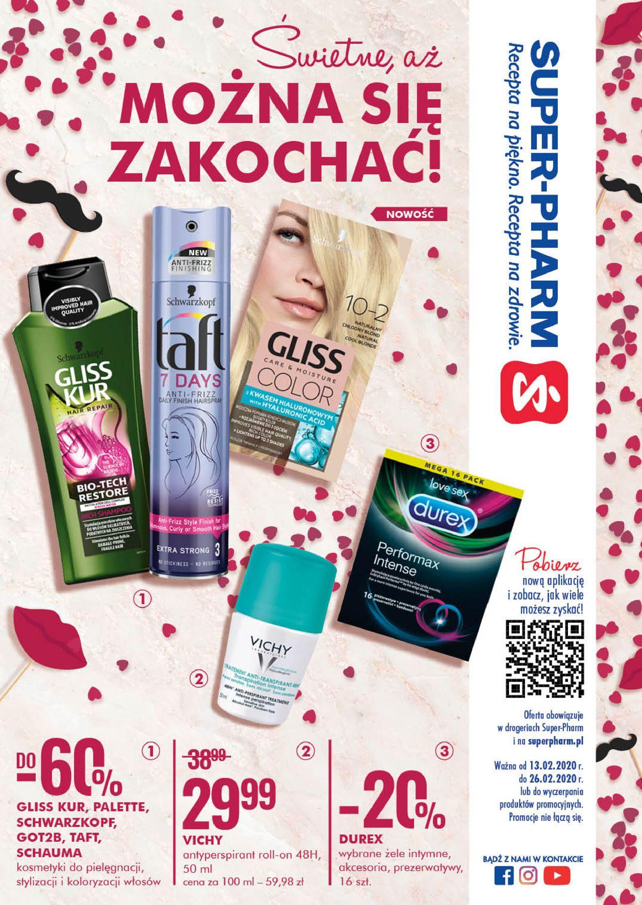 Gazetka promocyjna Super-Pharm - 13.02-26.02.2020