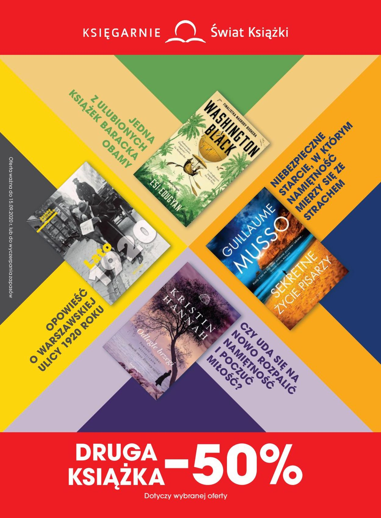 Gazetka promocyjna Świat Książki - 07.08-15.09.2020