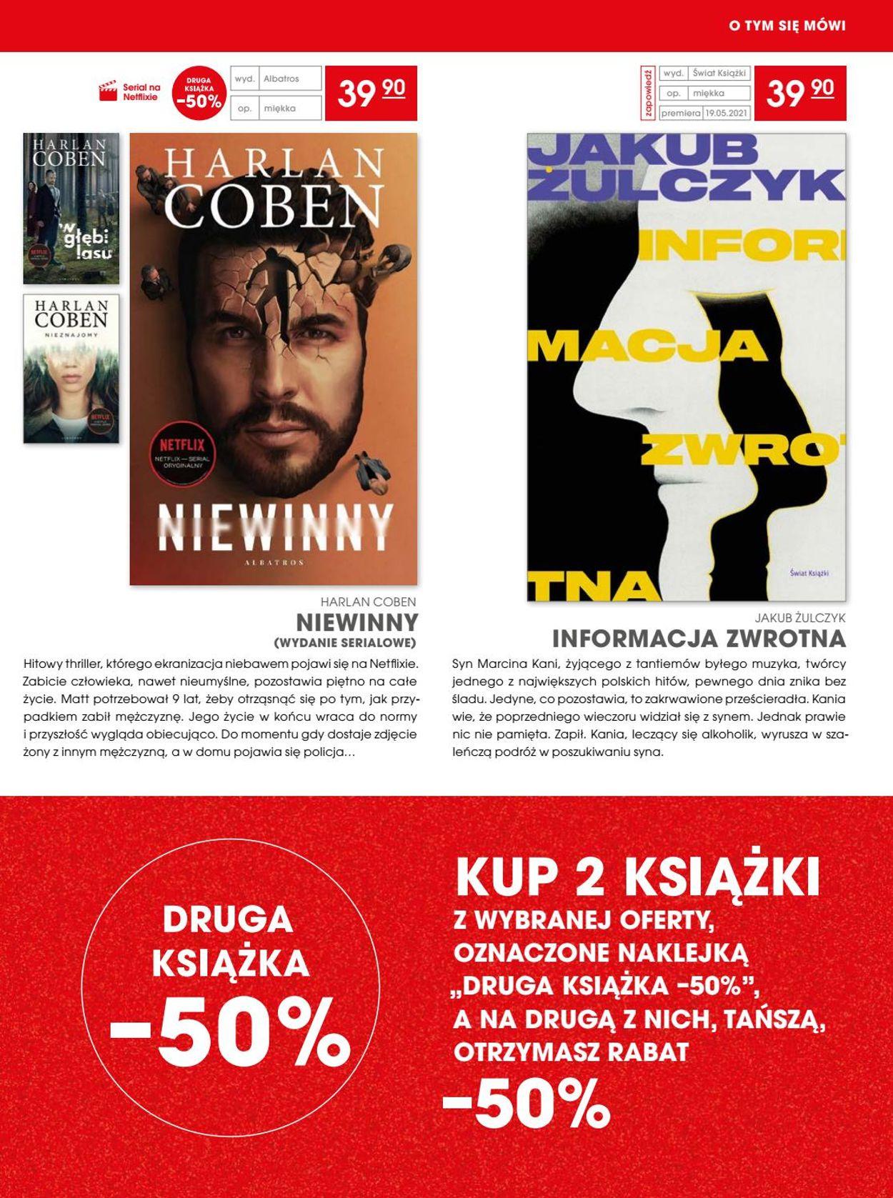 Gazetka promocyjna Świat Książki - 14.04-18.05.2021 (Strona 3)