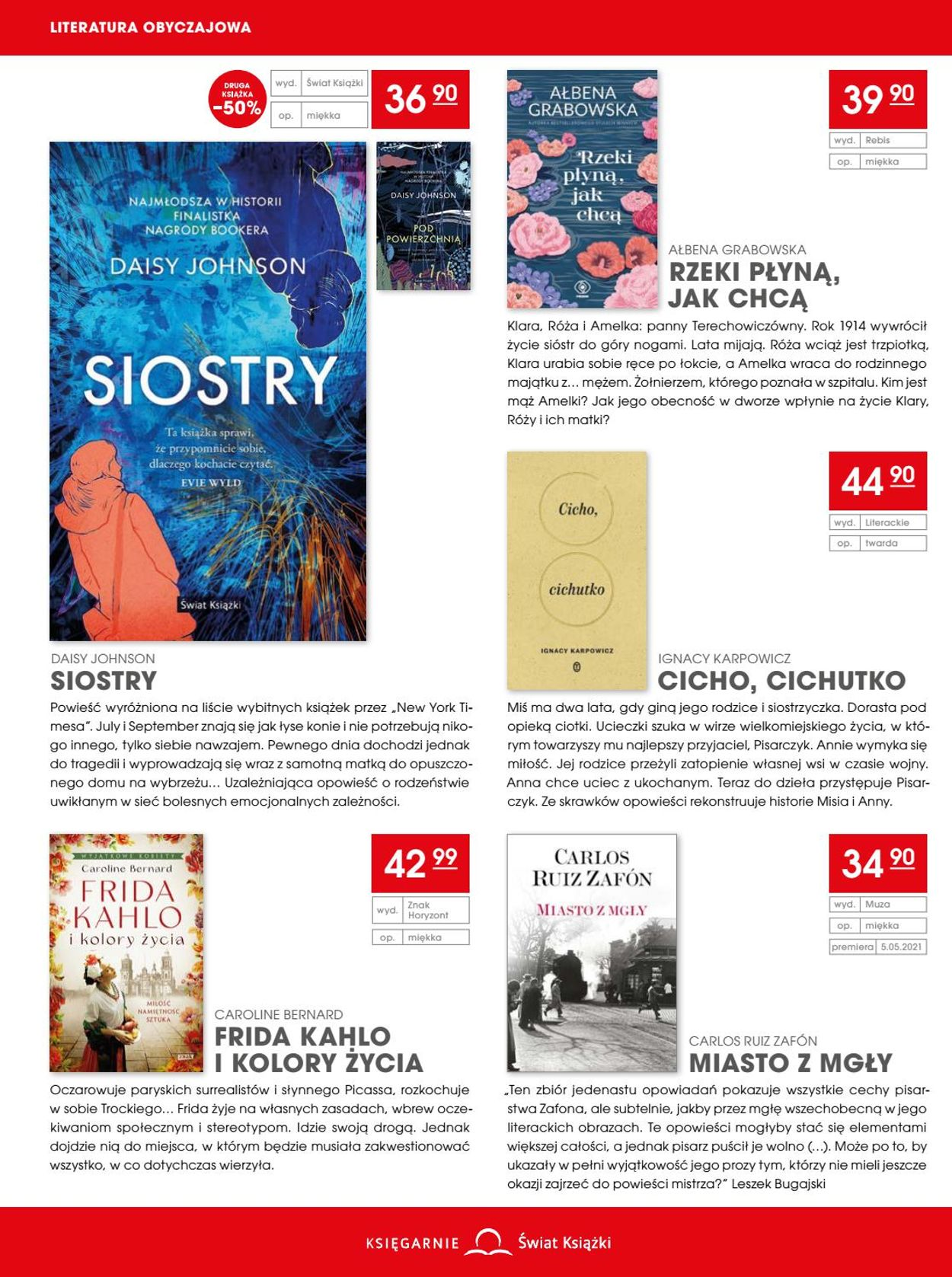 Gazetka promocyjna Świat Książki - 14.04-18.05.2021 (Strona 4)